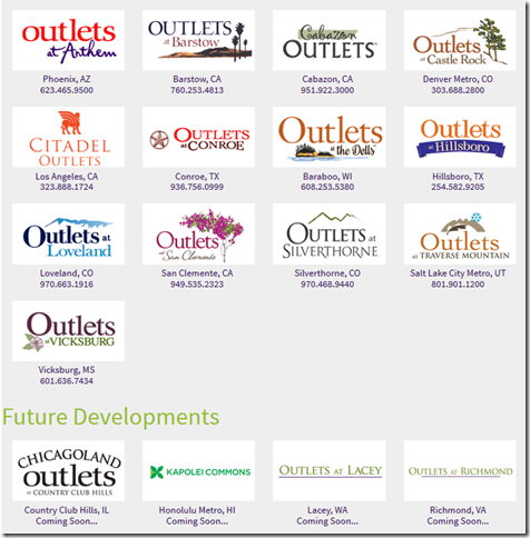 Craig Realty Outlets