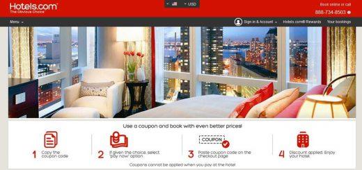美国最好用的酒店预定网站Hotels.com