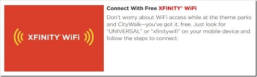 洛杉矶好莱坞环球影城 免费WiFi