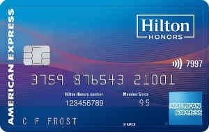 Amex Hilton Honors Ascend Card 希尔顿酒店联名卡