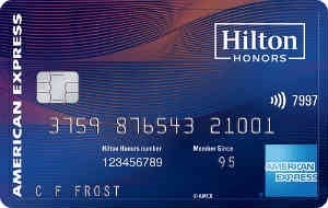 Hilton Honors Aspire Card 希尔顿酒店联名卡