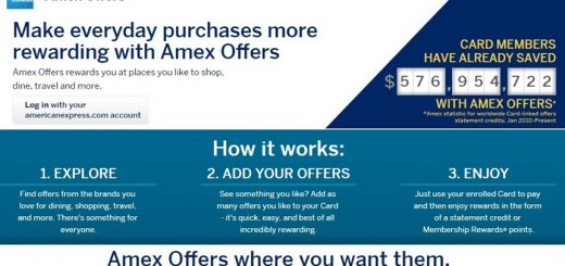 Amex Offers, American Express 信用卡Offer福利