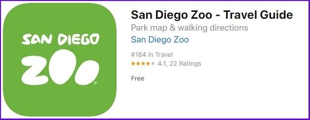 圣地亚哥动物园/野生动物园 APP