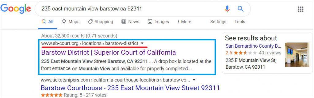 Google 罚单法院地址