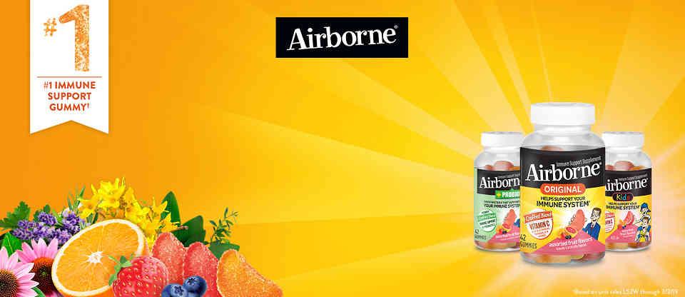 美国Costco #1系列保健品: Schiff Airborne 多元维生素软糖