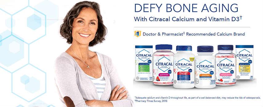 美国Costco #1系列保健品: Citracal 酸钙