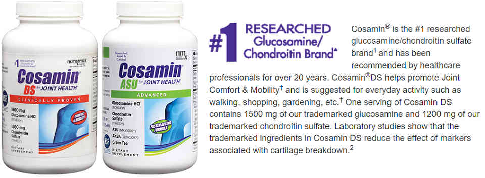美国Costco #1系列保健品: Cosamin 关节养护
