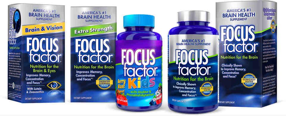 美国Costco #1系列保健品: Focus Factor 健脑营养补充