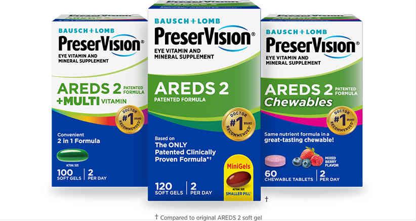 美国Costco #1系列保健品: PreserVision 博士伦护眼维生素