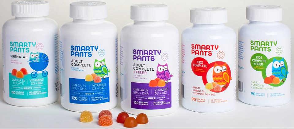 SmartyPants 维生素软糖