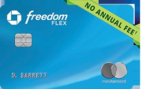 Chase Freedom Flex Card 5%季度返现
